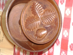 Strawberry Butter Mold