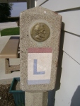 Lincoln Cement Marker