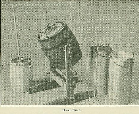 Dashe and Barrel Churns