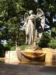 Dodge Angel Statue