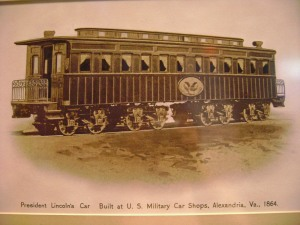 Lincoln's Funeral Car Exterior
