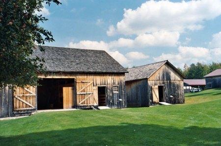 Recreated Wilder Barns