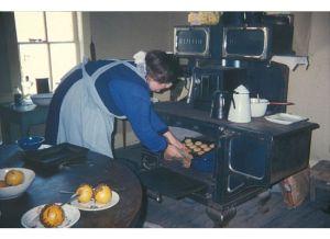 Baking on a wood burning stove