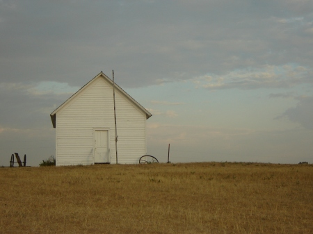 One-Room School on Ingalls Homestead De Smet SD