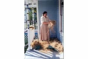 Sarah Uthoff Twisting Hay