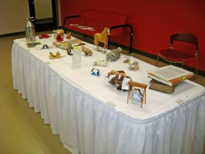 Table with Storytelling Objects
