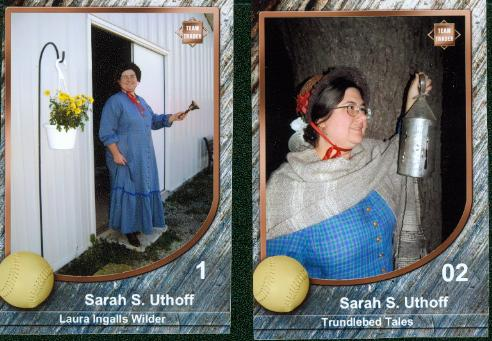 Trundlebed Tales Trading Cards 1 and 2