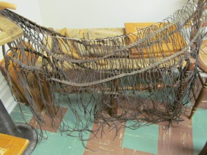 Horse Net Made by Blind School Students