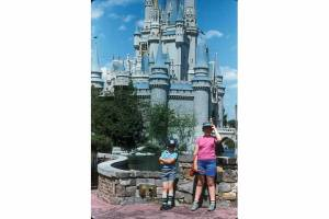 Me and My Brother at Disney World in 1985