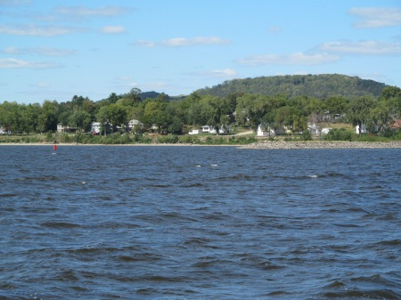 Lake Pepin from boat