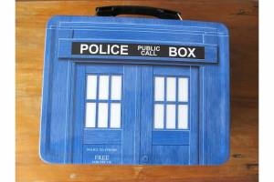 Thanks to IPTV my TARDIS lunchbox