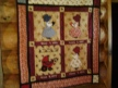 Laura Quilt on Display in Pepin