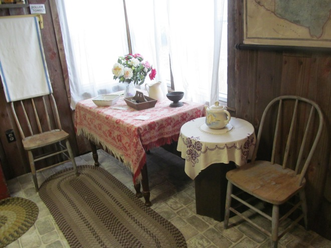 Kitchen in Pepin Museum