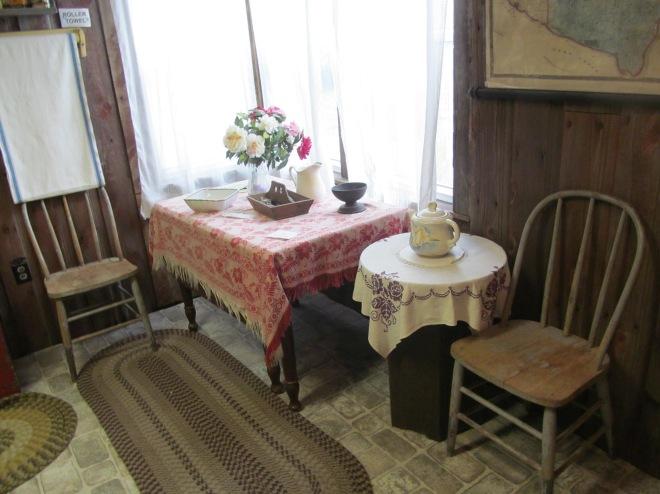 Kitchen in Pepin Museum