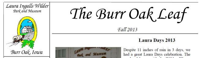 Burr Oak Masthead