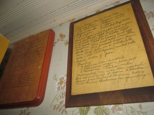 Two of My Recipe Decoupages