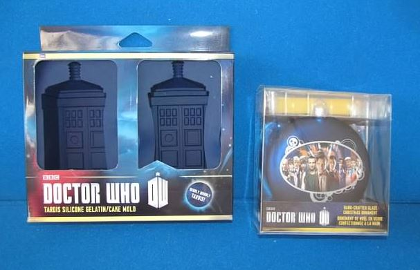 TARDIS Mold and All Doctors Ornament