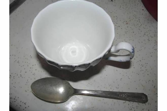 Cup and Friendship Spoon
