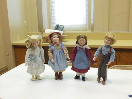 Group of Dolls