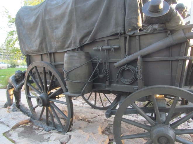 Wagon in the Mud