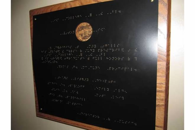 Mary Diploma Braille