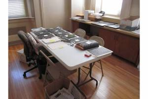 Mary Society Work Table