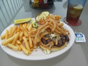 Boji Blue Cheese Burger