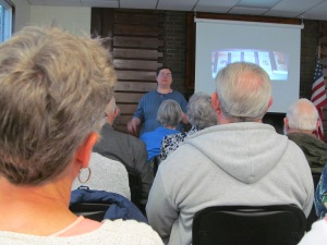 Presenting at Ottumw