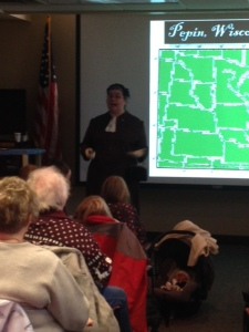 Presenting in Estherville Public Library