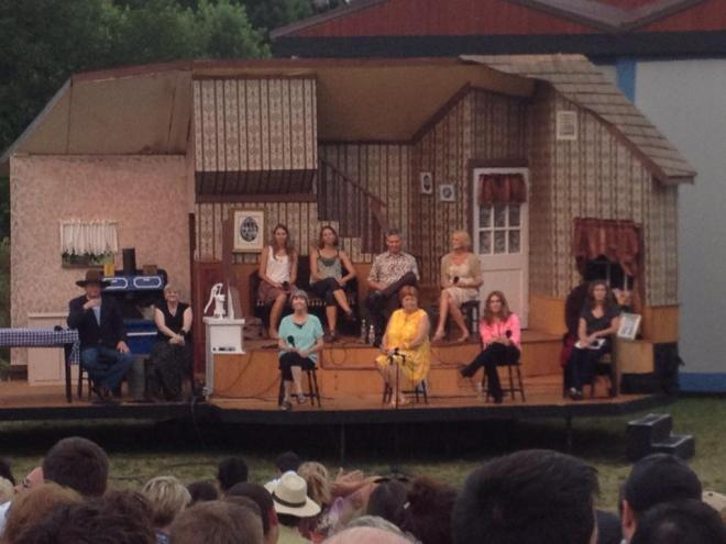 Cast on Stage Courtesy of Linda Starbuck