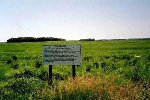 Prairie at McCone Sod Houses - Near Walnut Grove