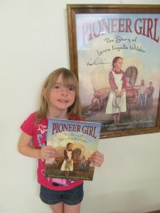 Rhea and Pioneer Girl
