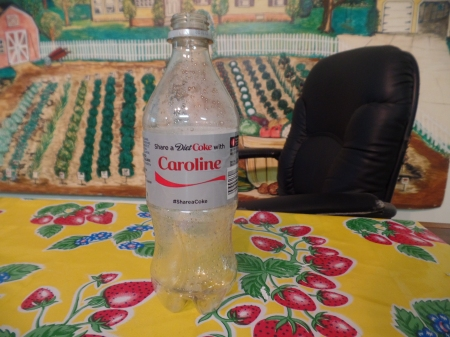 Caroline Coke Bottle