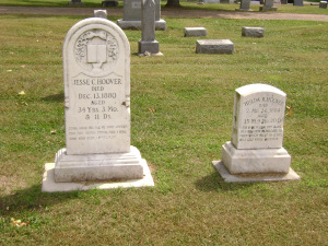 Graves of Hoover's Parents