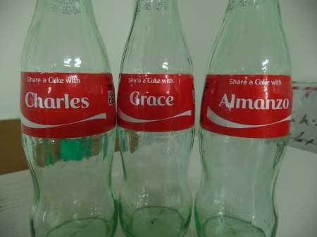 Glass Name Bottles