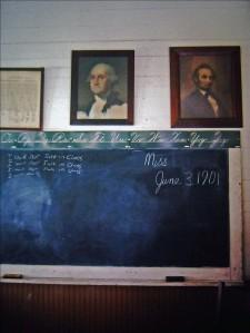 Washinton and Lincoln