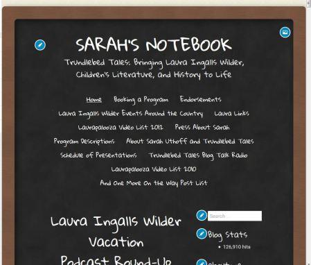 My Blog in Chalkboard