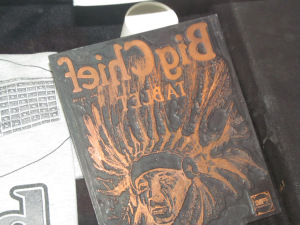 Big Chief Print Block