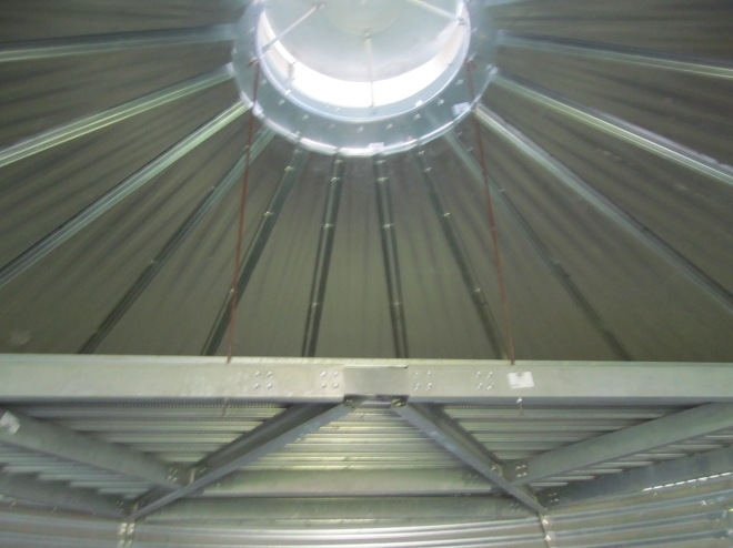 Interior of Roof