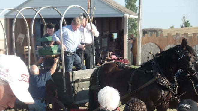 Dean Butler Drove the Wagon