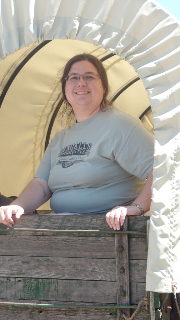 Sarah Uthoff in Walnut Grove Wagon