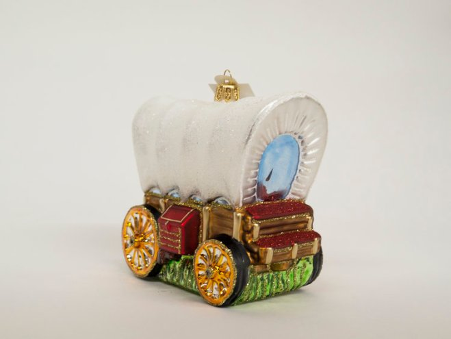 Covered Wagon Ornament