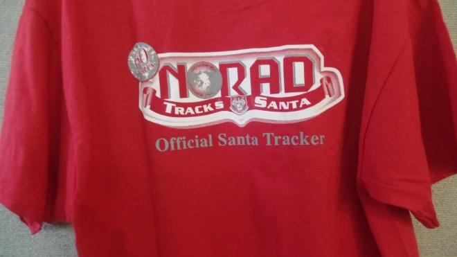 NORAD logo back