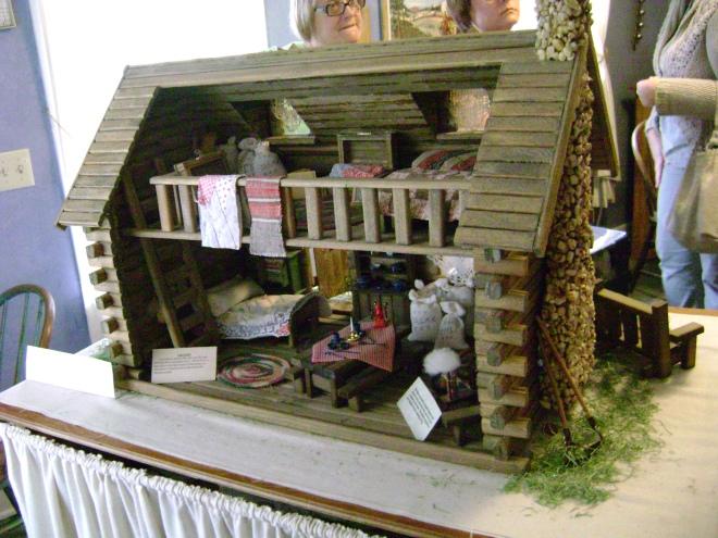 Cabin Dollhouse in Burr Oak, Iowa