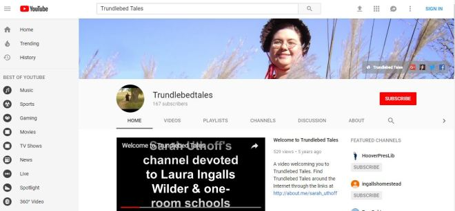Trundlebed Tales YouTube Header