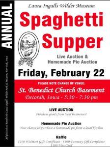 Spaghetti Supper Invite