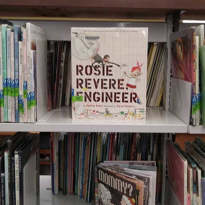 Cover of Rosie Revere Engineer