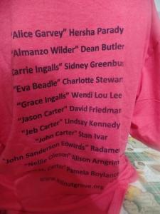 Full Back of T-Shirt
