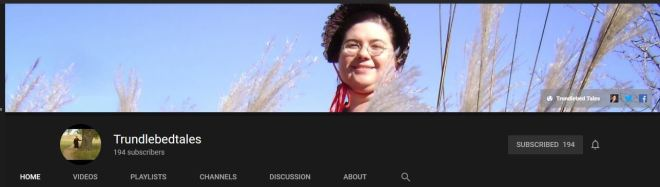 Trundlebed Tales YouTube Channel Header