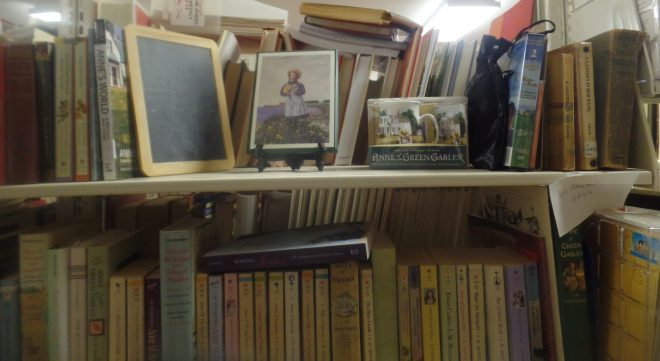 L.M. Montgomery Shelf